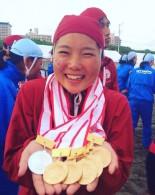 大山 玲奈選手が5つの金メダルを獲得!!