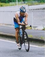 飯田忠司選手、6月19日の五島長崎国際トライアスロンエリートの部6位と健闘しました!